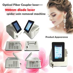 Модернизированная версия Vascular / Veins / Spider Veins удаление для диодного лазера 980nm диодный лазерный аппарат для удаления вен