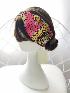Ünlü Yüksek Grade Çapraz Elastik Bantlar İçin Kadın Erkek Moda Kız Saç bantları Baş Eşarp Saç Aksesuarları Hediyeler Toptan En Headwraps