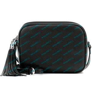 Bolsas bolsas Mulheres Leather Soho Bag Disco Bolsa de Ombro Bolsa de alta qualidade Camera Crossobody Bags 21 centímetros