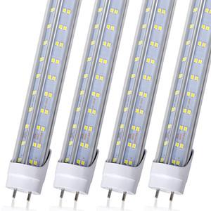 25pcs T8-LED 라이트 튜브, 4FT 60W LED 전구 라이트 4 발 형광등 조명기에 대한 V 모양 더블 사이드 4 행 T10 T12 LED 교체 전구