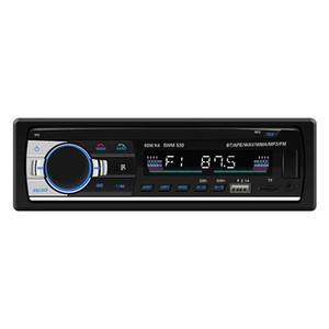 SWM-530 Autoradio Alta Definição Universal Duplo LCD Car Multimídia Estéreo Bluetooth 4.0 Carro MP3 Player de Música Rádio FM Dupla USB AUX