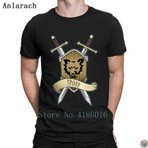 iRobb shirts Freizeit Baumwolle HipHop Kleidung T-Shirt für Männer Charakter Fitness 2018 Anlarach Tops neu