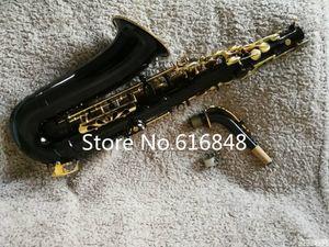 Jupiter JAS-769-767 Alto E Instruments Plano saxofone Marca New Musical Preto niquelado Corpo ouro Lacquer Key Sax com caso