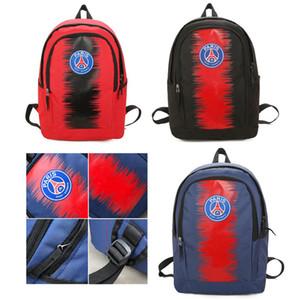Спорт Рюкзак мужской рюкзак большой емкости для путешествий Открытый ранец подросток Schoolbag моды Париж Сумки
