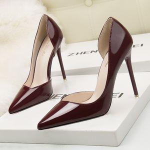 New Eloshman Fashionable Simple Stiletto High Heel OL Professional Lady Formal Women Dress Shoes Designer Sandals Size 34-39