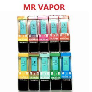MR VAPOR Одноразовые устройства пустой Pod Starter Kit 280mAh Аккумулятор 10styles Vape Pen против биди EON шикарной шикарной плюс