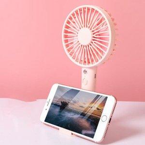 Настольный мини вентилятор Перезаряжаемый USB портативный летний открытый портативный телефон стенд вентилятор для домашнего офиса OOA8010