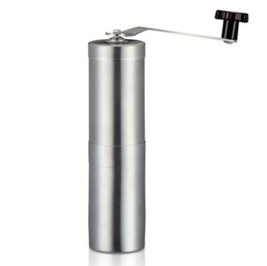 Manual Coffee Grinder with Stainless Steel Handle Precision Brewing Brushed Stainless Steel Manual Grinding Coffee Machine H103 010
