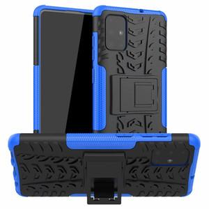 Armure hybride Cas durs pour Samsung Galaxy S20 Ultra S20 Plus Lite Stand Stand Stand Stand Stand Samsung Galaxy S20 Couverture Fe