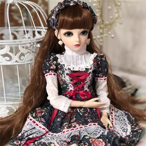 1/3 BJD Con Ropa Movible Conjunto Soporte Corporal Cambio de Ojos DIY Doll Girls Juguetes Clásicos El Mejor Regalo del Día de San Valentín