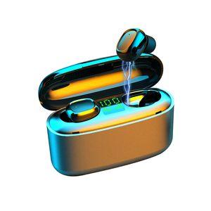 Беспроводные наушники Bluetooth V5.0 G5S TWS Беспроводные Bluetooth наушники LED дисплей с 3500mAh Power Bank гарнитура с микрофоном