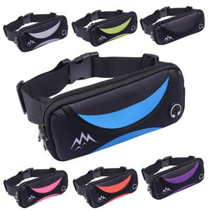 Slim Waterproof Sport GYM Running Waist Belt Pack Cell Phone Case Bag 6.0 inch Armband For iPhone X 8 7 5 6 6s 7 Plus Holder