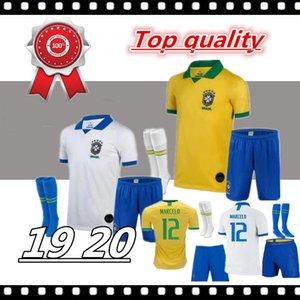 2019 Brezilya Amerikan Kupası futbol takımı forması erkekler jersey VINICIUS FIRMINO futbol forması Dünya Kupası özel futbol gömlek kiti