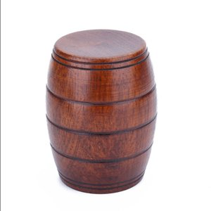 Promotion 11*6cm Wood Cup Natural Classical Handcrafted Jujube Big Belly Beer Coffee Milk Juice Tea Cup Tumbler