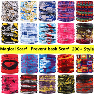Outdoor Sports Turban Cycling Bike Bicycle Riding Variety Magic Headband Head Scarf Scarves Face Mesh Bandanas Lady Prevent bask Scarf WY687