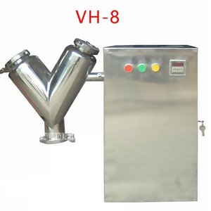 Новое поступление VH-8 Малый сухой смеситель сырья смеситель экспериментальный 220V / 110V 0.55 KW 24r / min 8L горячий