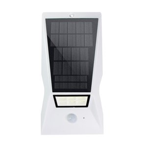 Umlight1688 2019 NEW Best Modern Design Motion Sensor 18 Leds 태양 정원 벽 램프 방수 태양 야외 빛