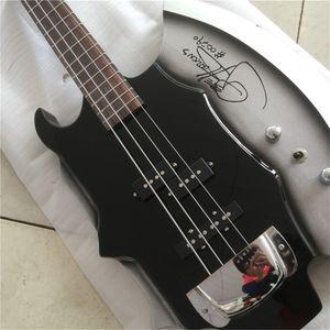 Livraison gratuiteForest Guitar Gene Simmon Ax 4 Cordes Bass Électrique Musique Instrument Shop Shop Picture Guitars Electric Guitarra