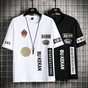 mens designer tracksuits summer sweatsuit 2020 luxury designer clothes Men's short sleeve T-shirt casual sports suit 5-point shorts