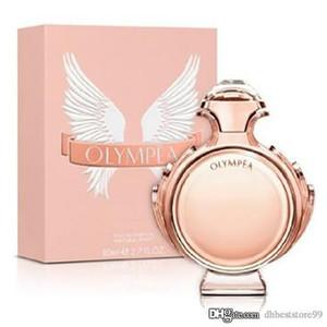 Mujer perfume perfume Olympea aqua 80ml EDP orientales Notas perfume de ámbar gris Desodorante Buena calidad y entrega rápida gratis