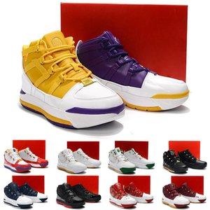 2020 новое поступление Lebron Zoom III 3 Home SuperBron мужская баскетбольная обувь высокое качество белый синий красный черный Lebron 3s спортивные кроссовки