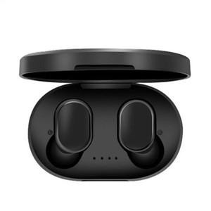 Auricular Bluetooth con micrófono de carga para el teléfono móvil caja verdadera auriculares estéreo TWS A6S auriculares con cancelación de ruido auriculares 5.0 Wireless