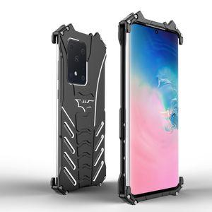 Alluminio Iron Man armatura di Batman Custodia per Samsung Galaxy 5G S20ultra S20 + S10 S10e 5G S9 S11 S11 Inoltre Nota 10 9 caso della copertura del sacchetto del telefono di Shell