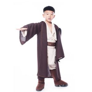 TPRPCO Boys Deluxe Jedi Warrior Movie Character Cosplay Party Abbigliamento Bambini Halloween Purim Carnival Costumi NL177