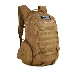 Camo Zaino funzionale zaino militare 20 pollici zaino dell'esercito con Hanging Nastri Sistema per la guerra Garmes Climbing Bag