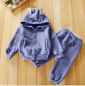 2pcs set Boy 2019 New Spring Version Of Loose Sports Suit Children Round Neck Long Sleeve Comfortable Clothes