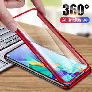 360 Derece Telefon Kılıfı için Huawei P30 P20 P10 Lite P30 P20 Pro Kılıf Tam Kapak Shell İçin Huawei 20 10 Lite Pro Davaları Mate