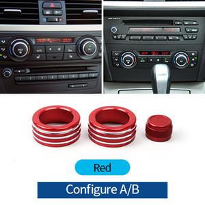 BMW E90 3 시리즈 2005-2012 년 자동차 에어 컨디셔닝 노브 커버 케이스 인테리어 장식