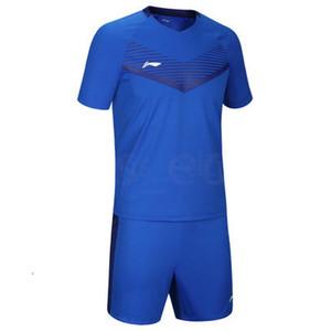Top personalizado de Futebol frete grátis Cheap Wholesale Discount algum nome faz Número Personalizar Football Shirt Tamanho S-XXL 595