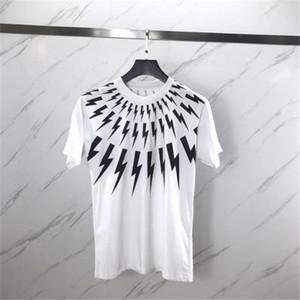 Verão T colarinho da camisa estilista Branca manga curta Camisas Homens Mulheres Camisetas Unisex Tees S-2XL