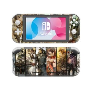 Octopath Traveler Skin Sticker Decal For Nintendo Switch Lite Console & Controller Protector Joy-con Switch Lite Skin Sticker