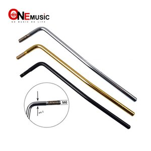 10pcs Screw-in Electric Guitar Tremolo Arm Whammy Bar Discussione 6MM Oro nero cromato