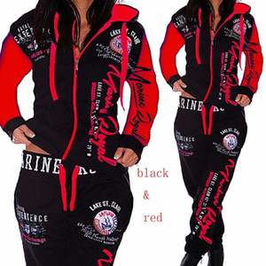 ZOGAA 2020 new Autumn Tracksuit Two Piece Set Women Sweatsuits 2 Pieces Matching Set Sweat Track Suits Joggers Suit Sets clothes