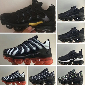Nike Air TN Plus 2019 Kinder TN Plus Freizeitschuhe Für Jungen Mädchen Royal Smokey Mauve String Colorways Schuhe Triple Weiß Schwarz Trainers