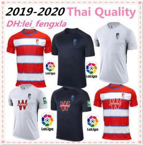 2019 2020 نيو جيرسي كرة القدم البلوزات 19 20 Granada Club de Fútbol Jersey # 18 JOSELU # 15 PEDRO # 11 MACHIS Soccer Football Shirt