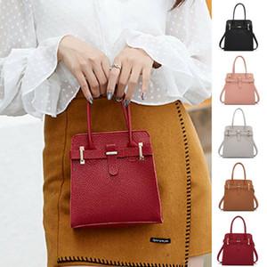 DONNE valigette file di documento tote bag in pelle portatile borsa tracolla messenger biliardo donne moda femminile cartelle selvagge 2020