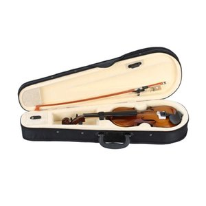 1 8 Acoustic Violin Solid Wood Fiddle Case Bow Rosin Kids Students Beginner Stringed Instrument