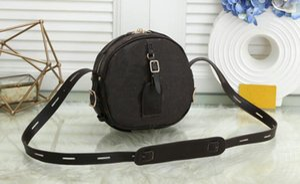 2020 Fashion Women Chain Handbags Circular Shoulder Bag Purse Ladies Leather Messenger Bag Designer Brand Crossbody Bags Wallet Satchel 9918
