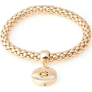 Wholealse Noosa Bracelets Europäischen und amerikanischen Modeschmuck Persönlichkeit Mode Noosa Button Bangles Corn Chain Bracelet