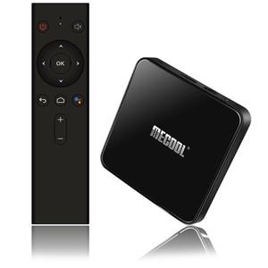 MECOOL KM3 ATV Android TV 9.0 certificato di Google Android 9.0 TV Box 4GB 64GB Amlogic S905X2 4K 2.4G 5G si raddoppia Wifi BT4.0 Set Top Box