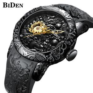 Biden Top Brand Luxury Mechanical Watch Men Automatic Self-wind Wrist Watches For Men Waterproof Mechanical Wristwatch Man Clock J190709