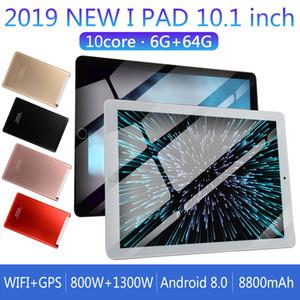2019 أقراص الروبوت PC الجيل الثالث 3G WCDMA 1280 * 800 10.1 بوصة بتقنية IPS MTK6797 كاميرا 2.0MP 6G 64G 4000mAh البطارية GPS FM بلوتوث واي فاي