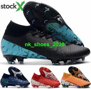 soccer football Shoes FG women cristiano AG VII Mens size us 12 ronaldo Men cleats boots Superfly 7 eur 46 children ball CR7 Mercurial Elite