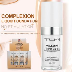 TLM 30мл Волшебная изменяющая жидкость жидкая основа Масло-контроль Маска для лица Корректор Длительный макияж Тональная основа Skin Tone TSLM1