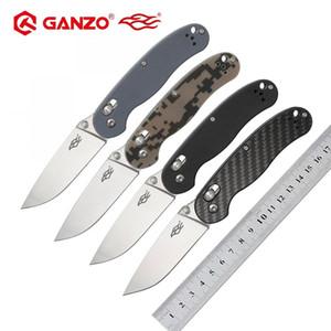 Firebird FBknife Ganzo FB727S 440C bıçak G10 veya karbon fiber kolu katlama bıçağı dış taktik kamp EDC aracı Av Cep Bıçak