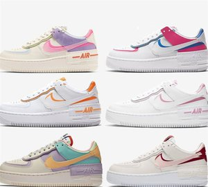 2020 Macaron Utility Nike air force af1 airforce one 07 1s Mens Shadow Tropical Twist Shoes for Women Skateboard Sneakers Sports Dunk One des Chaussures Zapatos